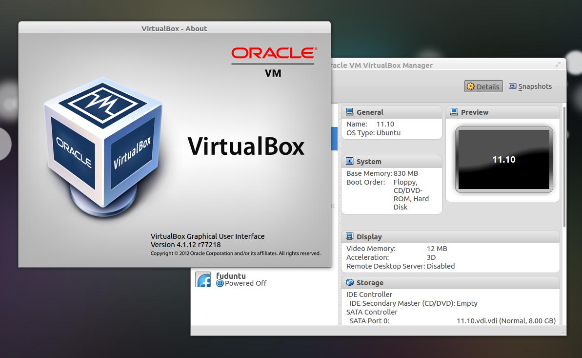 Virtualbox Ubuntu Image