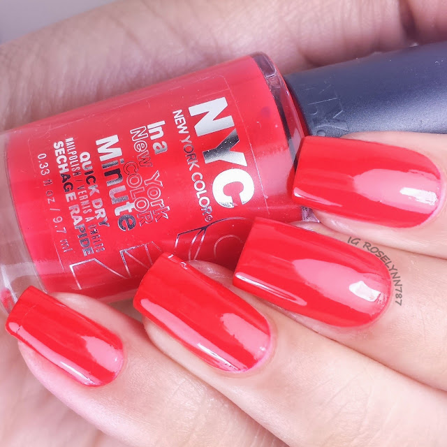 New York Color Carnival Red