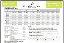 Cluster Baru Bukit Melia CitraIndah City