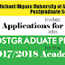 MOUAU 2017/18 Postgraduate School Admission Form On Sale