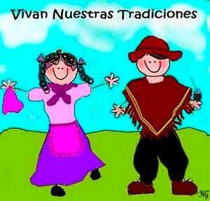 Glosas Día de la tradición.