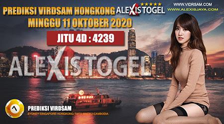 Prediksi Togel Virdsam Hongkong Minggu 11 Oktober 2020