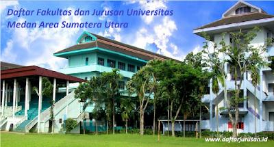 Daftar Fakultas dan Jurusan UMA Universitas Medan Area Sumatera Utara