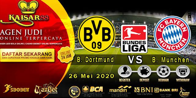 Prediksi Bola Terpercaya Liga Bundesliga Borussia Dortmund vs B. Munchen 26 Mei 2020