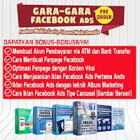 Buku Gara Gara Facebook Ads Pre Order 1