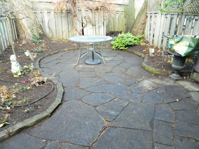 Coxwell Danforth Back Garden Fall Cleanup After by Paul Jung Gardening Services--a Toronto Gardening Company