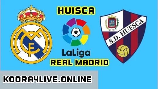 ريال مدريد وهويسكا موعد و معلق المباراة