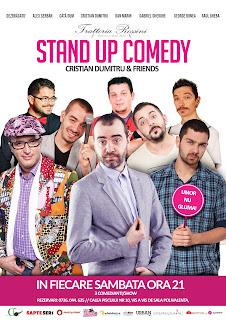Stand-up Comedy Sambata 5 Noiembrie Bucuresti