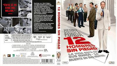 Carátula bluray: 12 hombres sin piedad (1957) 12 Angry Men