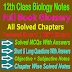 Full Book Glossry 12 Class Biology Notes