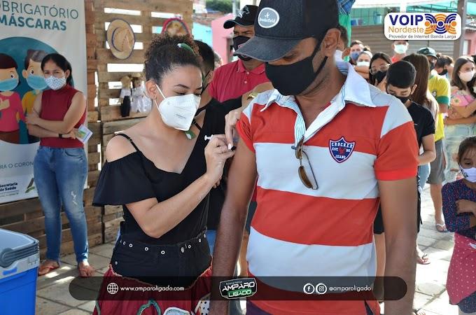 Secretaria de Saúde de Amparo realizou dia D de Vacinação contra a Influenza