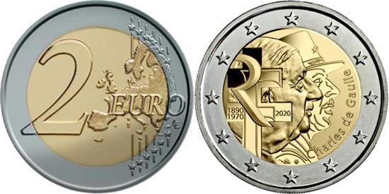 France 2 euro 2020 - Charles de Gaulle