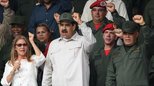 """¡Nervios de acero!"": Maduro asegura tener lealtad de militares"