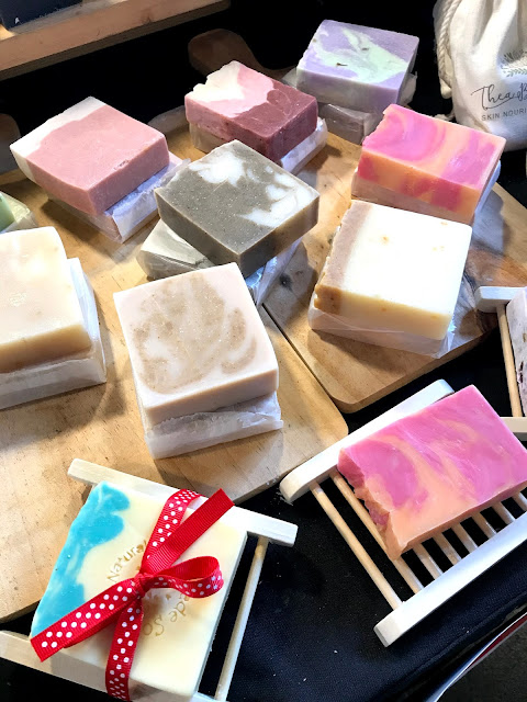 More beautiful-looking soaps from Thea Botanicals PH.