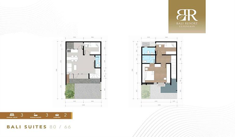 Bali suite facade design