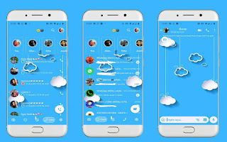 Clouds Theme For YOWhatsApp & Fouad WhatsApp By Leidiane