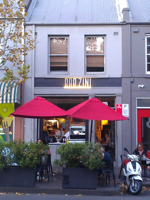 Bar Zini, Pyrmont NSW