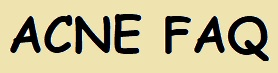 Acne FAQ
