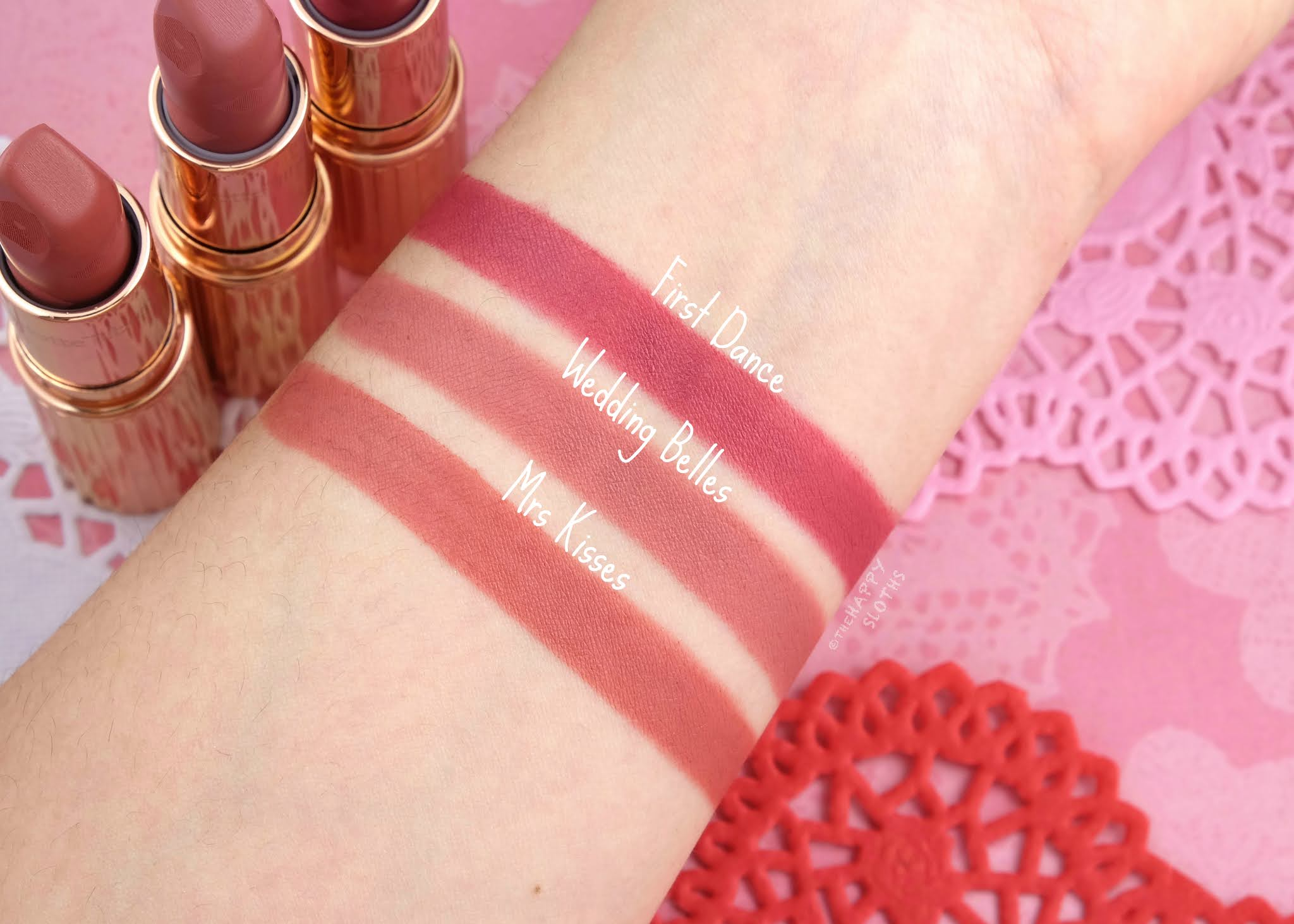 Charlotte Tilbury | *NEW* Love Filter Matte Revolution Lipsticks: Review and Swatches