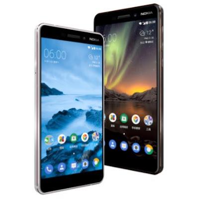 Gambar Depan Nokia 6 2018