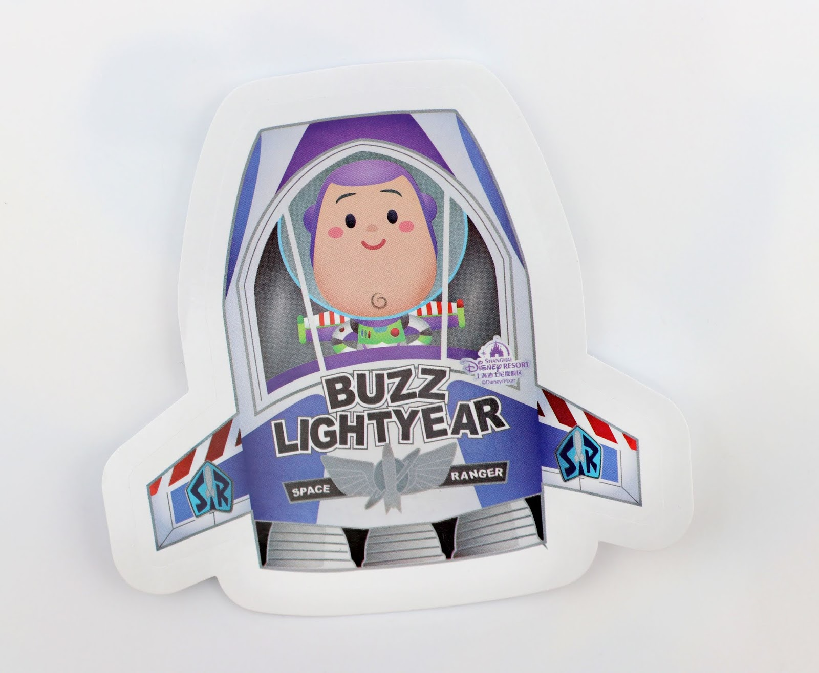 Shanghai Disney Exclusive Buzz Lightyear Sticker by Jerrod Maruyama