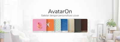 cara personalisasi cover sakelar lampu pakai foto favorit keluarga dengan avatar on schneider electric nurul sufitri travel lifestyle blogger