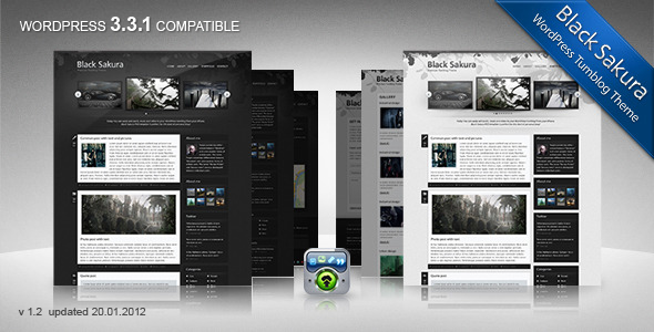 Premium Responsive Photography Theme 2014