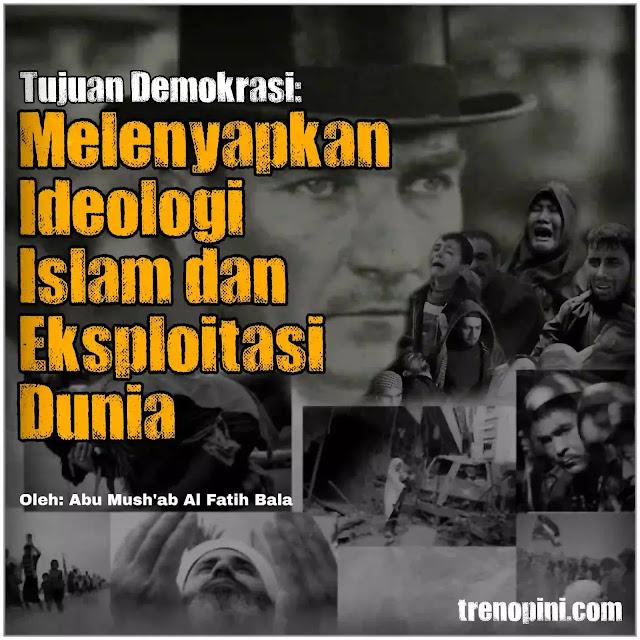 Setelah tanggal 3 Maret 1924, Ideologi Islam tidak lagi diemban oleh satu sistem kepemimpinan global. Barat dengan congkaknya menganggap bahwa Ideologi Islam telah tiada dan digantikan dengan kapitalisme beserta saudaranya demokrasi.