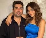 Aamna Sharif with her husband