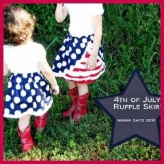 Faldas 4 de julio