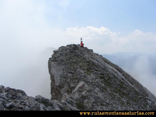 Ruta Tuiza - Portillín - Fontanes: Cima del Fontán Norte