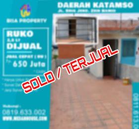 Rumah dijual daerah jl.BZ Hamid (katamso)  <del>TERJUAL/SOLD</del> <price>Rp 650 juta</price> <code>KATAMSO-1</code>