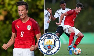 Manchester City 'keeping close tabs on Red Bull Salzburg's wonderkid Luka Reischl'