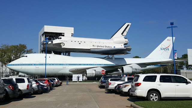 Shuttle replica Space Center Houston