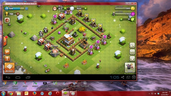 Cara Bermain COC (Clash of Clans) Di Komputer / Laptop