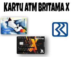 Limit ATM Britama X