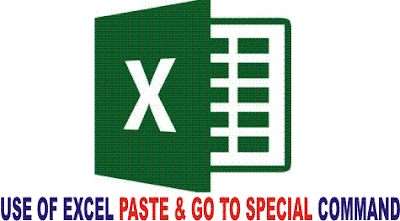 Use of Paste Special and Go to Special in Excel