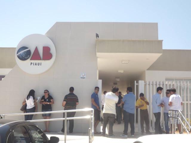 Resultado de imagem para blog do pessoa nova sede OAB parnaiba