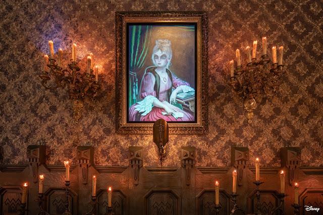 走入 加洲迪士尼樂園(Disneyland)加入新元素後的「Haunted Mansion」, Reopening