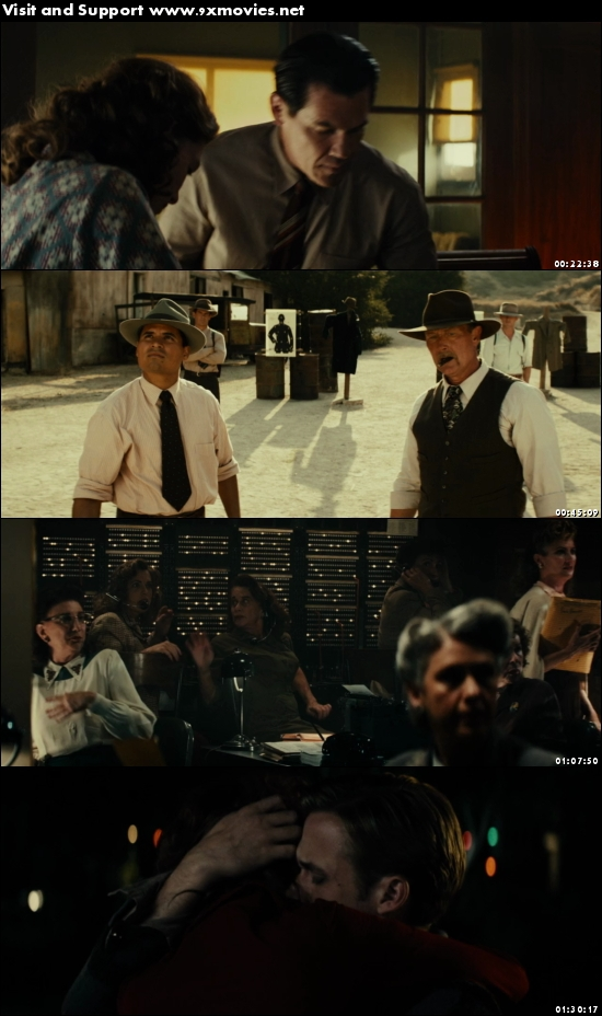 Gangster Squad 2013 Dual Audio ORG Hindi 720p BluRay