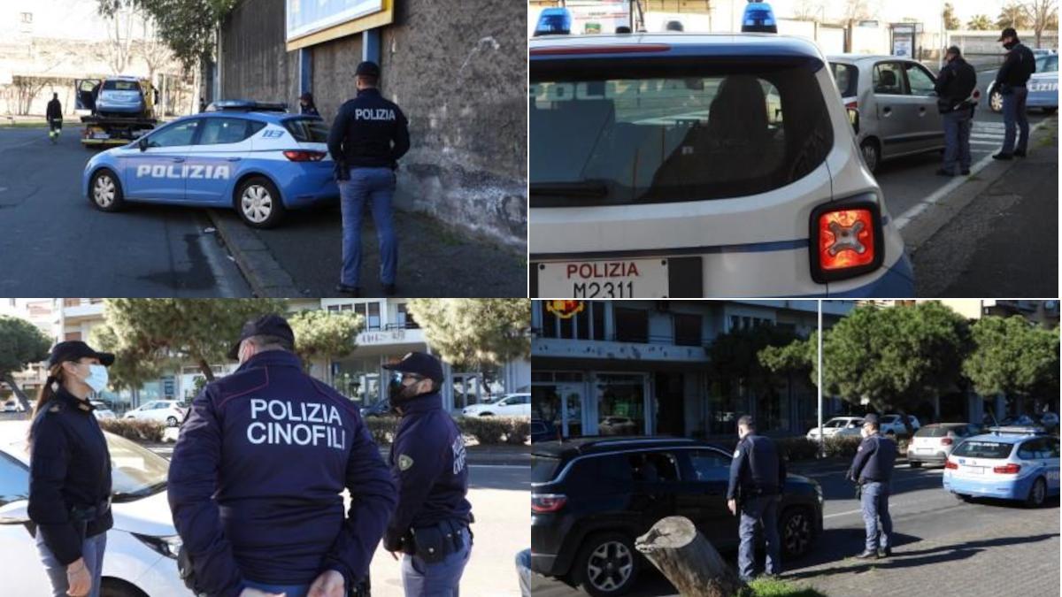 Polizia Operazione Ampio Raggio