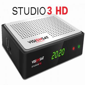 VISIONSAT STUDIO 3 HD NOVA ATUALIZAÇÃO V1.19 - 24/02/2018