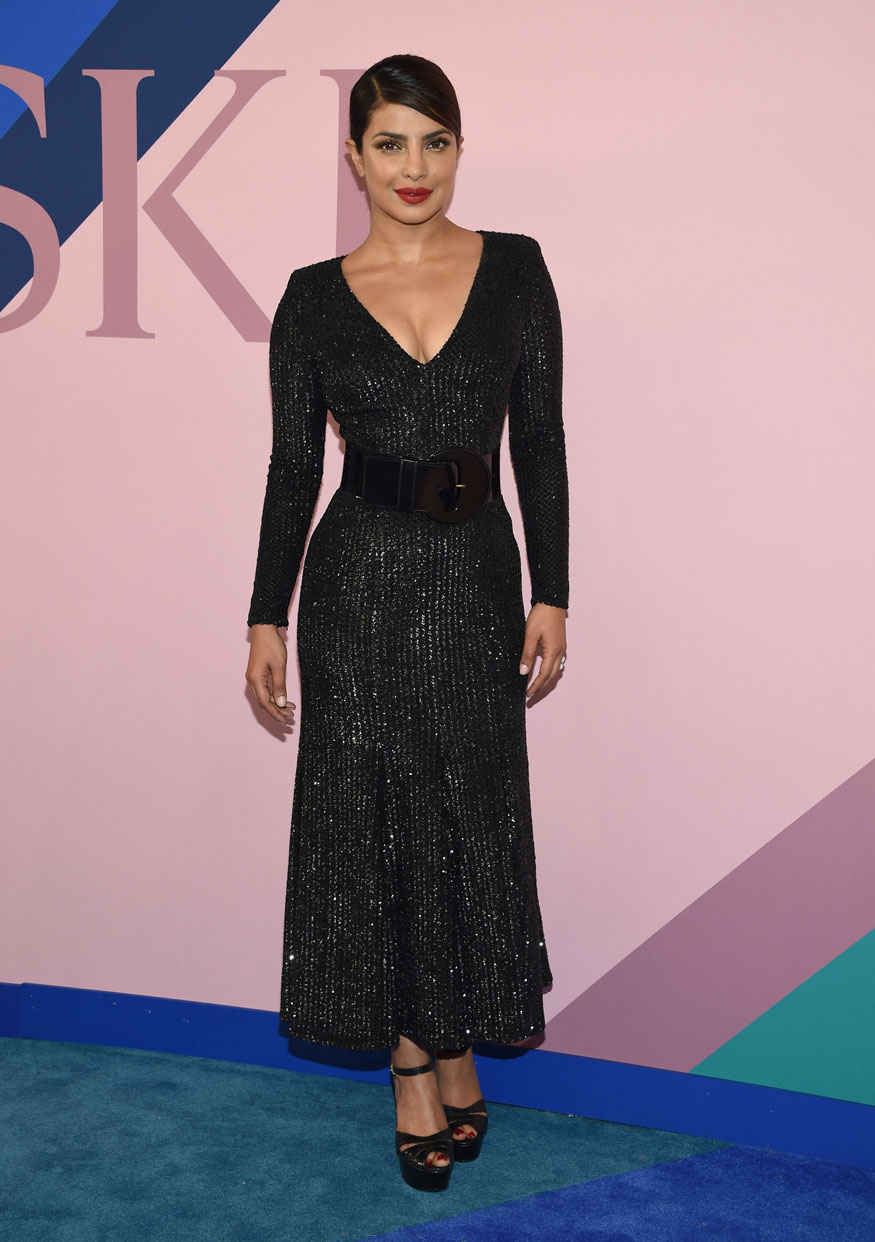 Priyanka Chopra at CFDA Fashion Awards 2017 Gallery
