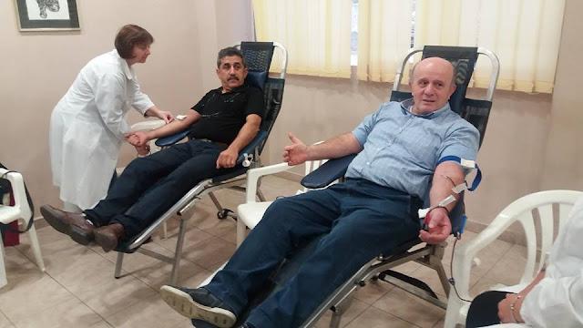 """Με επιτυχία πραγματοποιήθηκε η """"52η Εθελοντική Αιμοδοσία"""" των Ακριτών του Πόντου"""