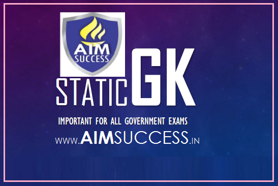 Static GK for SBI PO/Clerk 2018: 02 May