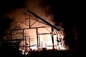 Cisewu-Garut, Rumah Seorang Warga Hangus Terbakar