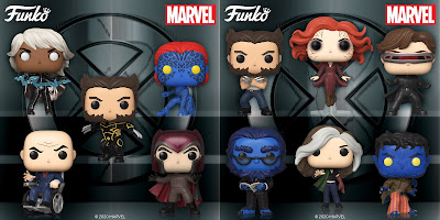 X-Men Movie 20th Anniversary Pop! Marvel Series by Funko