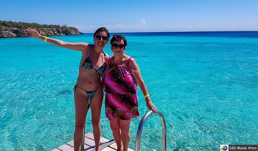 Praia de Curaçao: Porto Mari - Diário de Bordo: cruzeiro pelo Caribe