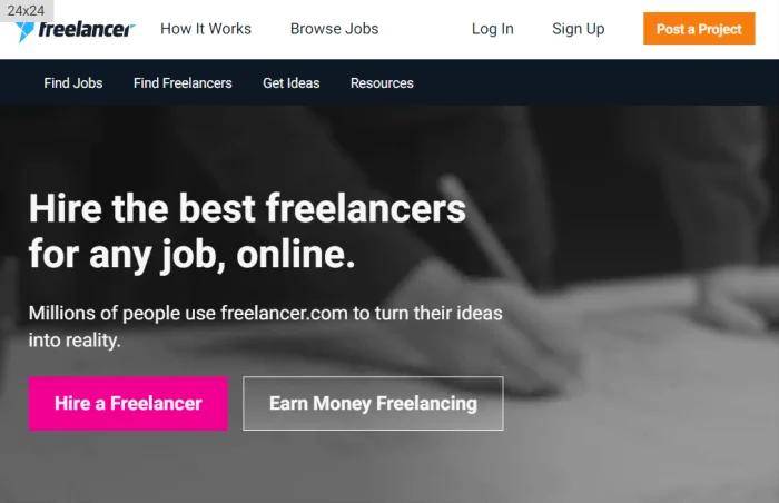 Freelance Jobs At Freelancer