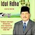 H. Daliyus K, SSI, MM Mengucapkan Selamat Idul Adha 1442 H, Semoga Semangat Berkurban tidak Surut di Masa Pandemi Covid-19